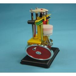 Модель четырехтактного двигателя