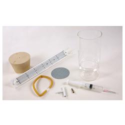 Прибор для обнаружения дыхательного газообмена у растений и животных