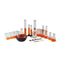 Набор химической посуды общего и специального назначения для демонстрационных опытов