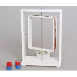 Прибор для демонстрации вращения рамки в магнитном поле