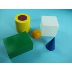 Набор геометрических тел демонстрационный