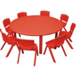 Стол детский круглый (8 мест)