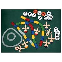 Биосинтез белка (набор из 49 пластмассовых фигур на магнитах)