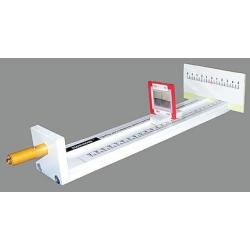 Прибор для измерения длины световой волны с набором дифракционных решеток