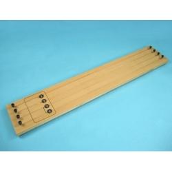 Прибор для демонстрации зависимости сопротивления проводника от его длины, сечения и материала