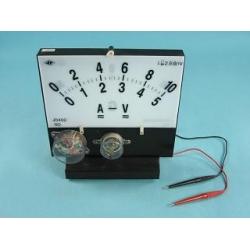 Ампервольтметр для постоянного и переменного тока демонстрационныйA-V