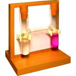 Прибор для демонстрации процесса диффузии в жидкостях и газах