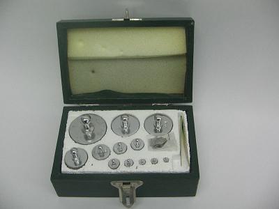 Набор гирь для весов на 1000 гр.