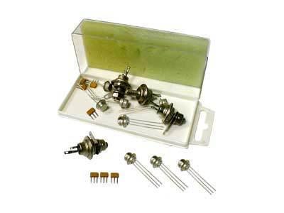 Комплект для изучения полупроводников (транзисторы и тиристоры)