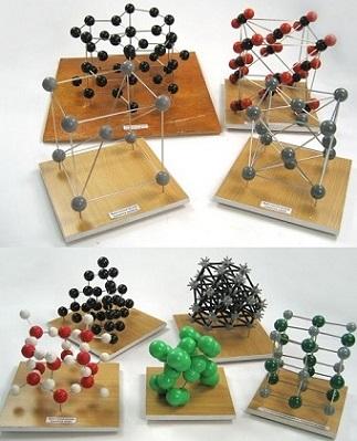 Набор моделей кристаллических решеток