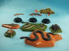 Набор моделей позвоночных животных