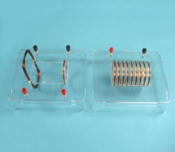 Прибор демонстрации спектров магнитных полей электрического тока