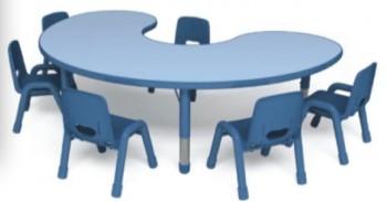 Стол детский луна (6 мест)