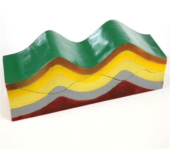 Модель сдвигов земной коры