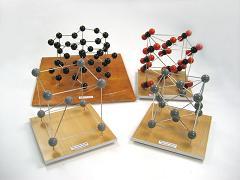 Набор моделей кристаллических решеток (9  шт.)