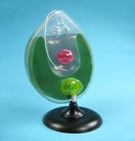Модель одноклеточной вольвоксовой водоросли