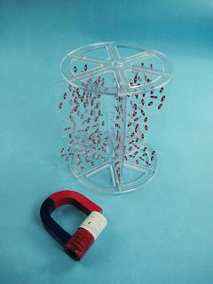 Модель для демонстр. в объеме линий магнитного поля