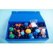Демонстрационный набор для составления объемных моделей молекул