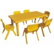 Стол детский прямоугольный (6 мест)